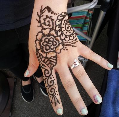 100% Safe Henna Tattoos!