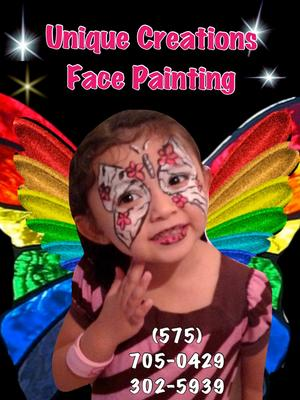 UNIQUE CREATIONS FACE PAINTING