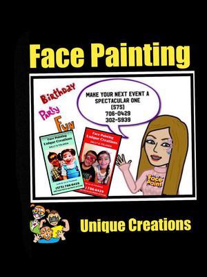 Face Painting Unique Creations