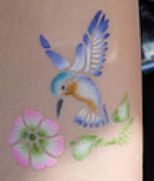 Family Fun Airbrush Tattoos