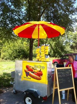 Roadside Hot Dog Stand!