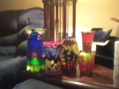 Vases with the trasforming beauty of light and color to fit any decor or genre.