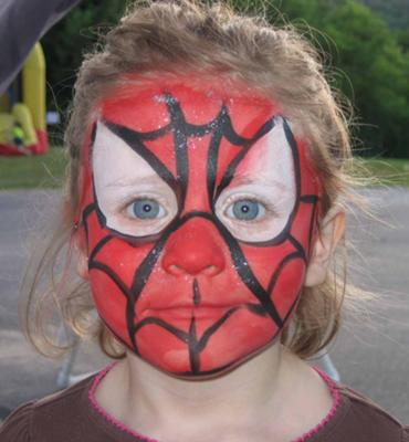A little girl Spider Man?