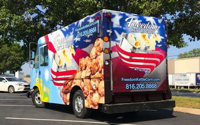 Freedom Kettle Corn Food Truck 2