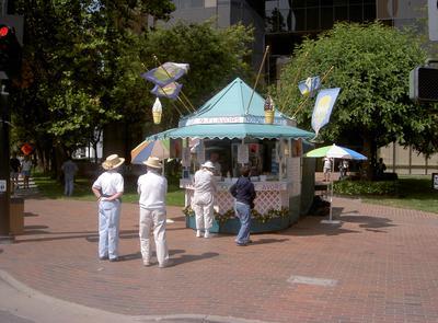 Frozen Yogurt Wagon