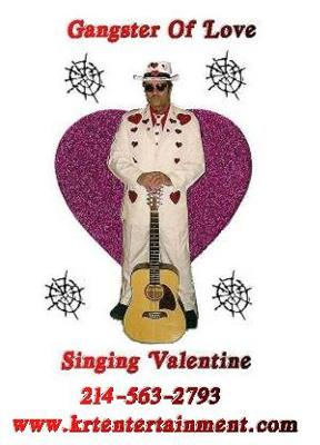 Gangster Of Love Singing Valentines - Grand Prairie, Texas.