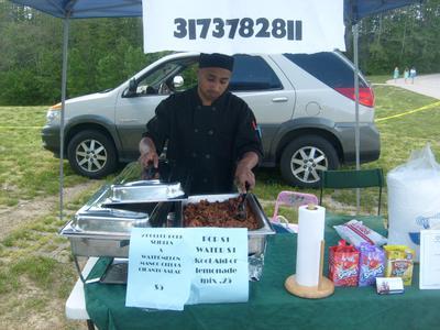 Small local vendor show.