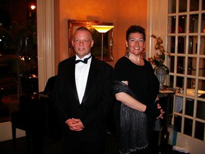 Garrett Collins and Stefanie August