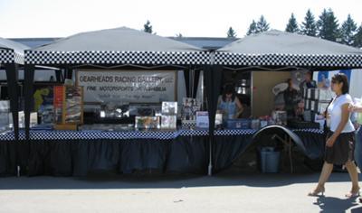 Gearheads Racing Gallery's 30'+ setup.