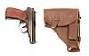 Gun Case with a Handgun