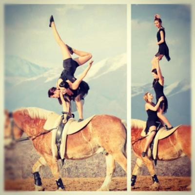 Gymnastics on Horseback Association