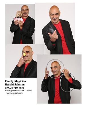 Harold Johnson Family Magician