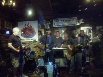 Rockin at the historic Rodeo Bar, NYC.