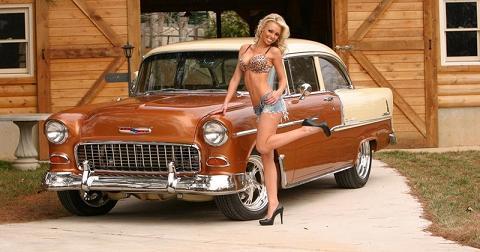 Hot Rod Bikini Girl