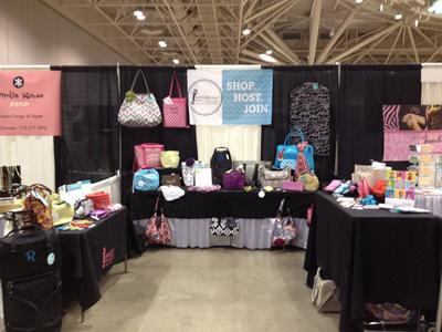 Initials, inc at the Twin Cities Women's Expo.