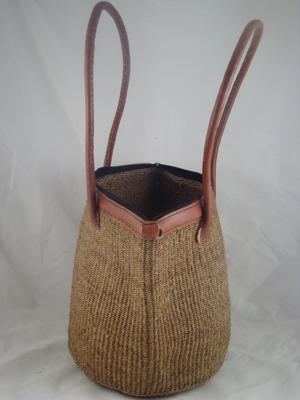 Sisal Kenyan hand made bags in many colors.