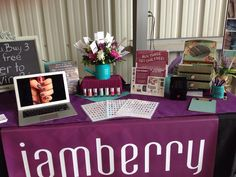Jamberry Nail Wraps and Lacquer Set Up.