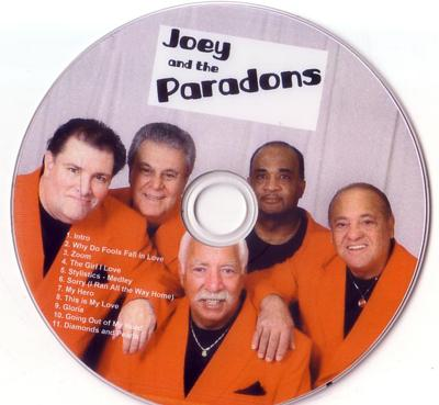 Joey nand the Paradons - Doowop Group