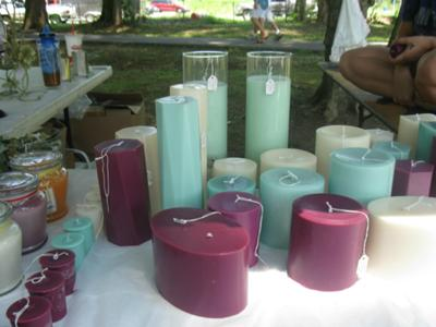 Many Pillar and Votive candles to choose from...