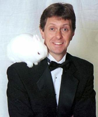 Ken  Northridge and Bingo the Bunny