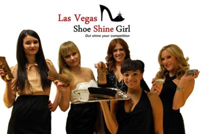 Las Vegas Shoe Shine Girl