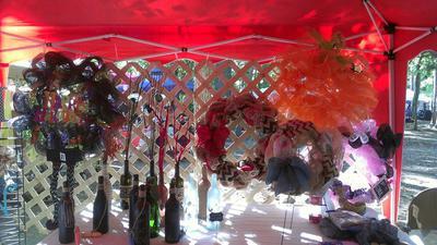 Autumn Jubilee (wreaths and bottles)