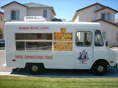 Lukes All American Ice Cream Truck