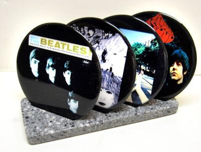 Custom Record Coasters
