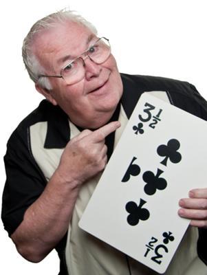 Comedy magician Al Lampkin.