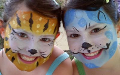 Face Painting by Melody Newcombe.