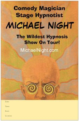 Michael Night - Magician, Hypnotist