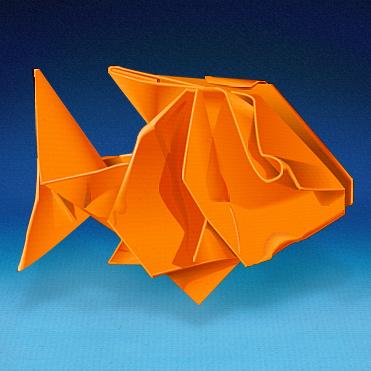 Origami Sunfish Folder-Michael Roy Designer-John Montroll