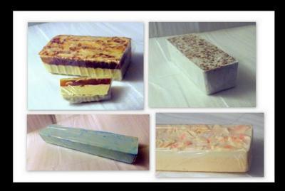Whole Loaf Soaps,Goats Milk,Shea Butter,Mango Butter,Honey,Lavender,Sugar,Rose