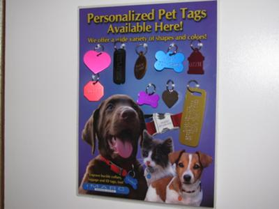 Pet ID Tags.. Made while you wait!