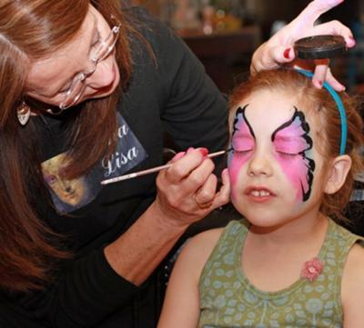 Mona Lisa Professional Face Painter Oklahoma City