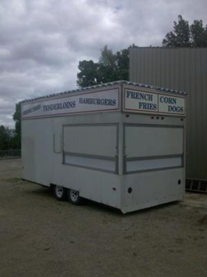 Moritz Concessions -18 ft. trailer.