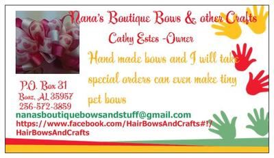 Nana's Boutique Hair Bows and Crafts
