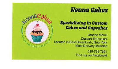 Nonna Cakes Business Card
