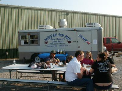 Serving at the Dawson CO fair.