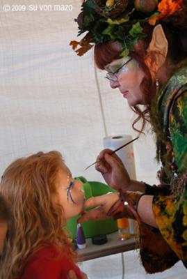 Oaklara Nutgrabber the Woodland Fairy