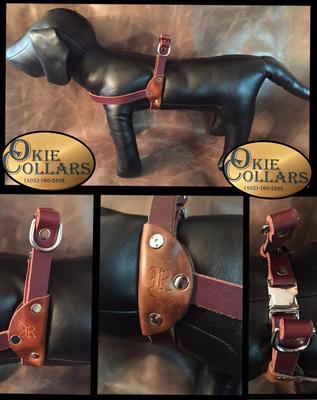 Okie Collar-Leather harness
