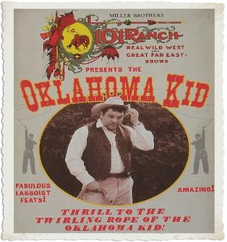 The Oklahoma Kid Trick Roper Comedian and Humorest