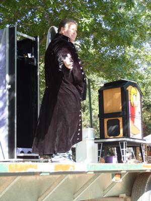 Oklahoma Festival Magician Christopher Starr