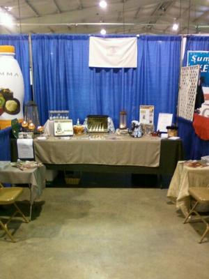 Booth from the Coastal Carolina Fair