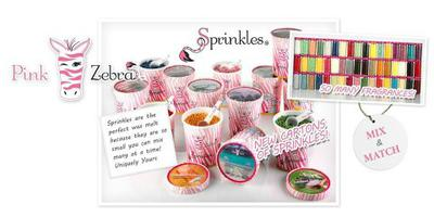 Sprinkles - Cartons and Jars