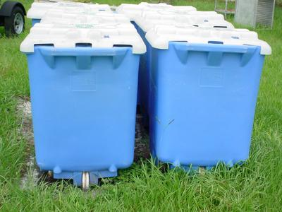 Plastic Waste Recovery Bins
