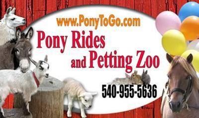 Safari In Va >> Pony To Go - Pony Rides and Petting Zoo - Berryville, Virginia