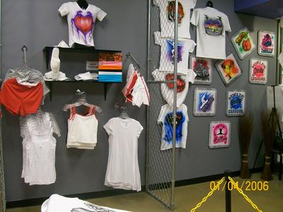 Greg's Airbrush - T-shirts and Embroidery
