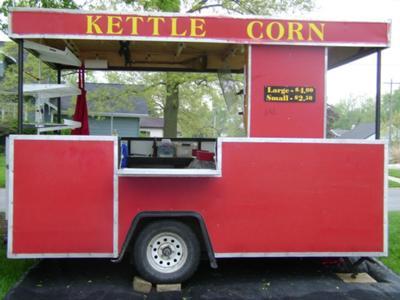 Red Wagon at Pella, Iowa, May 2009