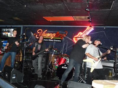 Rockzilla Explodes On Stage